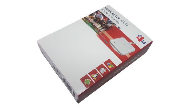 Lector de tarjeta chip EVO Caja