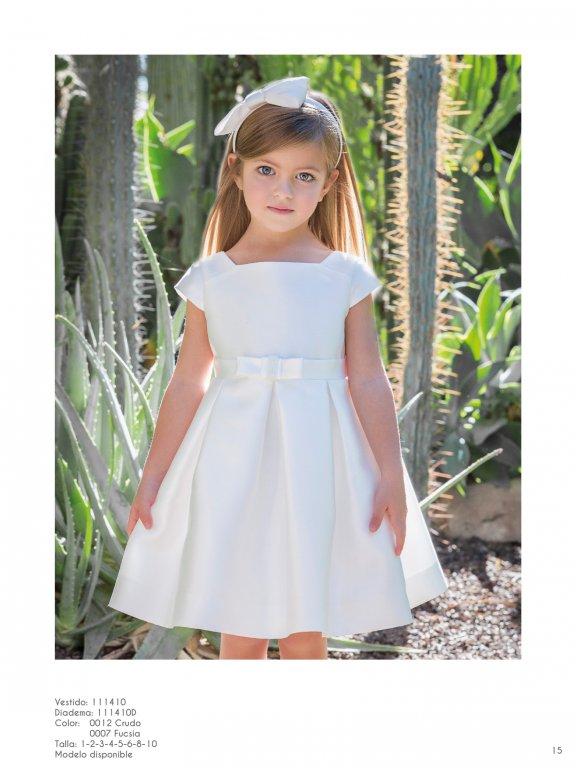 Vestido ceremonia niña perfecto para paje