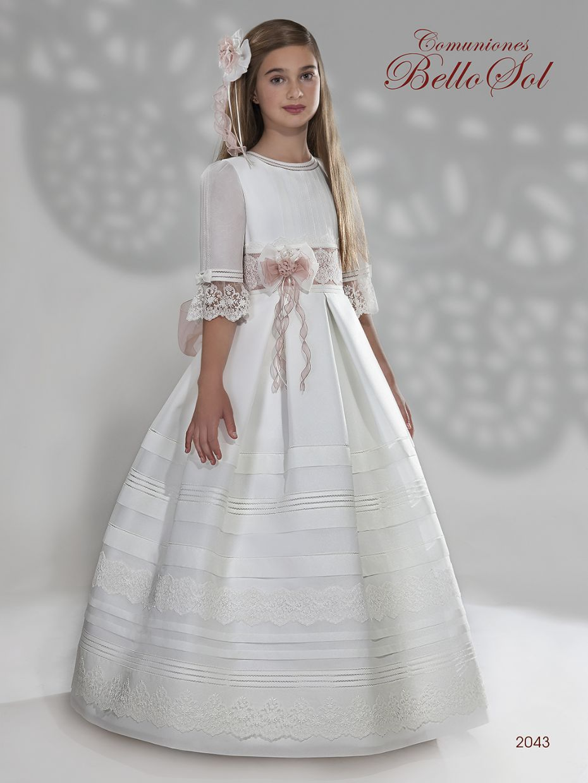 Vestido Comunión Bello Sol 2043