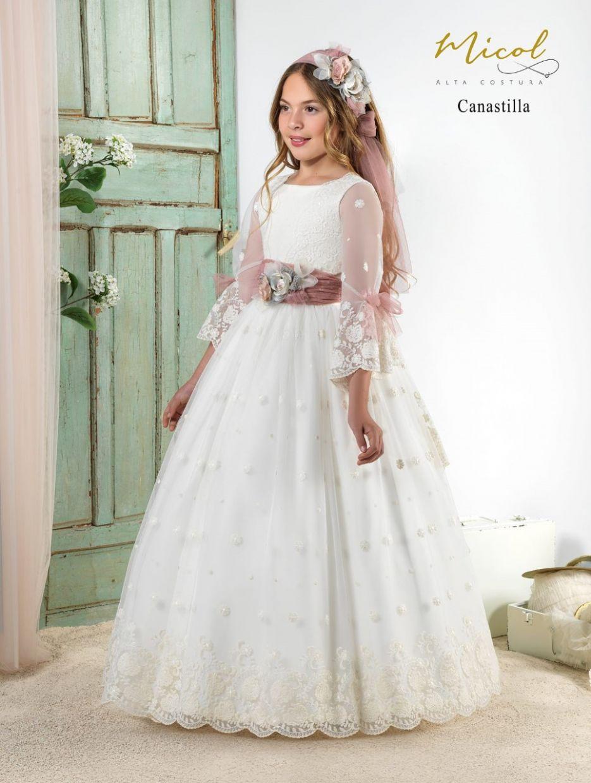 Vestido Comunión Micol Canastilla