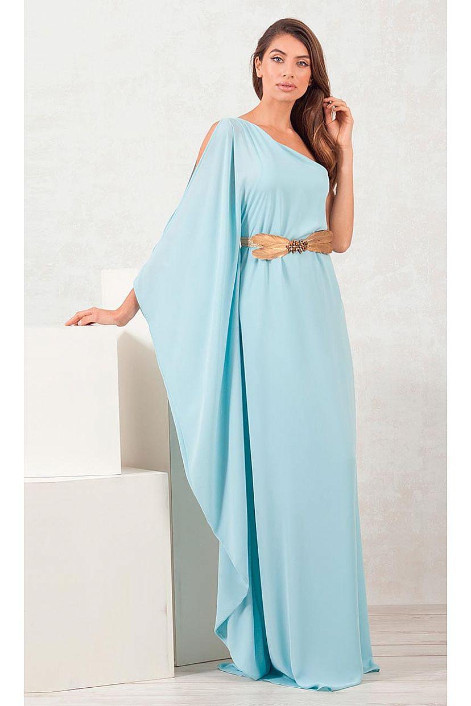 Producto: Vestido Fiesta asimétrico estilo griego