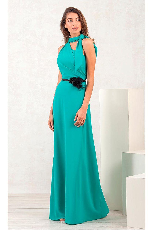 Producto: Vestido Fiesta Asimétrico al cuello