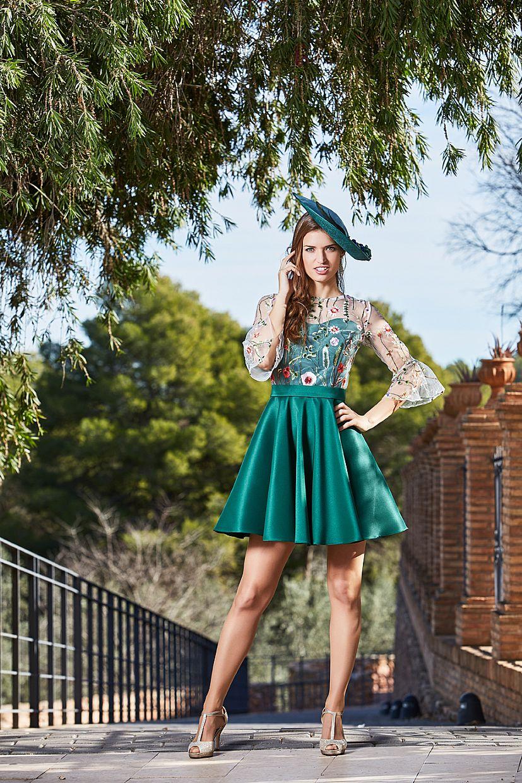 Producto: Vestido BYANA Esmeralda