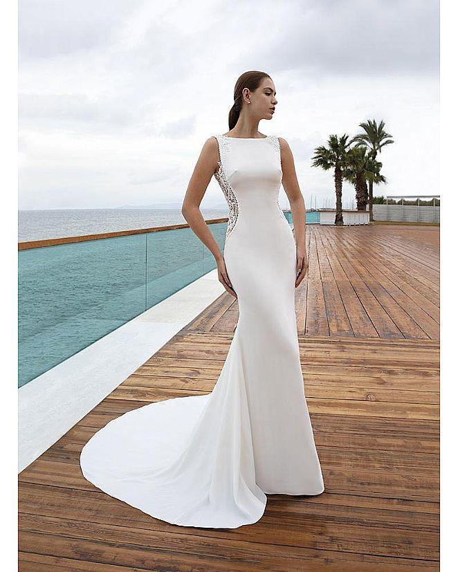 Producto: Vestido Corte Sirena Transparencias