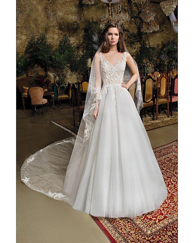 Producto: Vestido Princesa cuerpo de pedrería