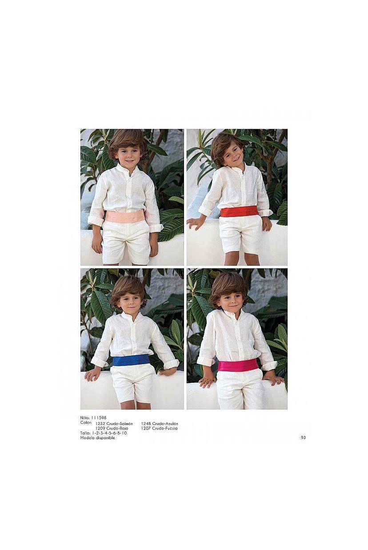 Conjunto ceremonia niño en color beige  - Foto 1