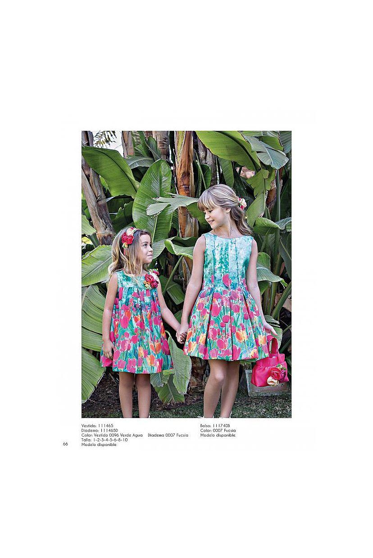 Vestido estampado tulipanes  - Foto 1