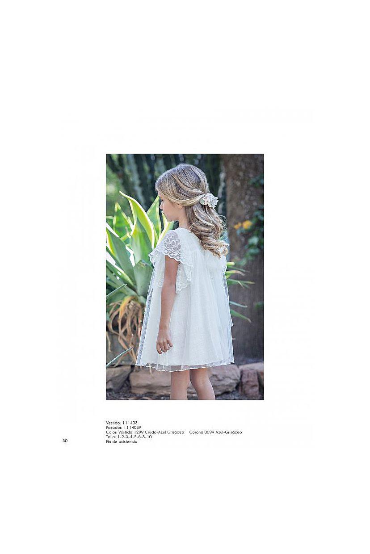Vestido niña estilo ibicenco romántico  - Foto 1