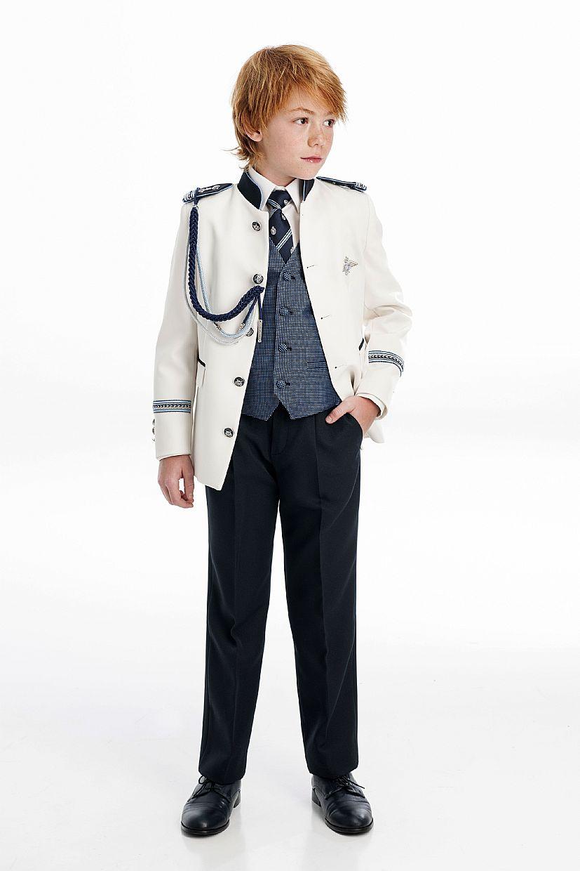 Producto: Traje almirante blanco y azul marino