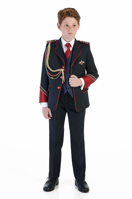 Producto: Traje almirante color azul oscuro y rojo