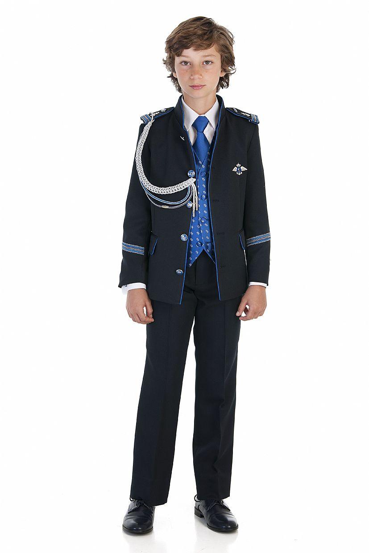 Producto: Traje almirante azul oscuro y eléctrico