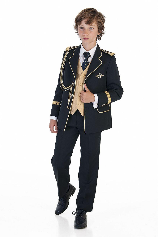 Producto: Traje almirante azul marino y dorado