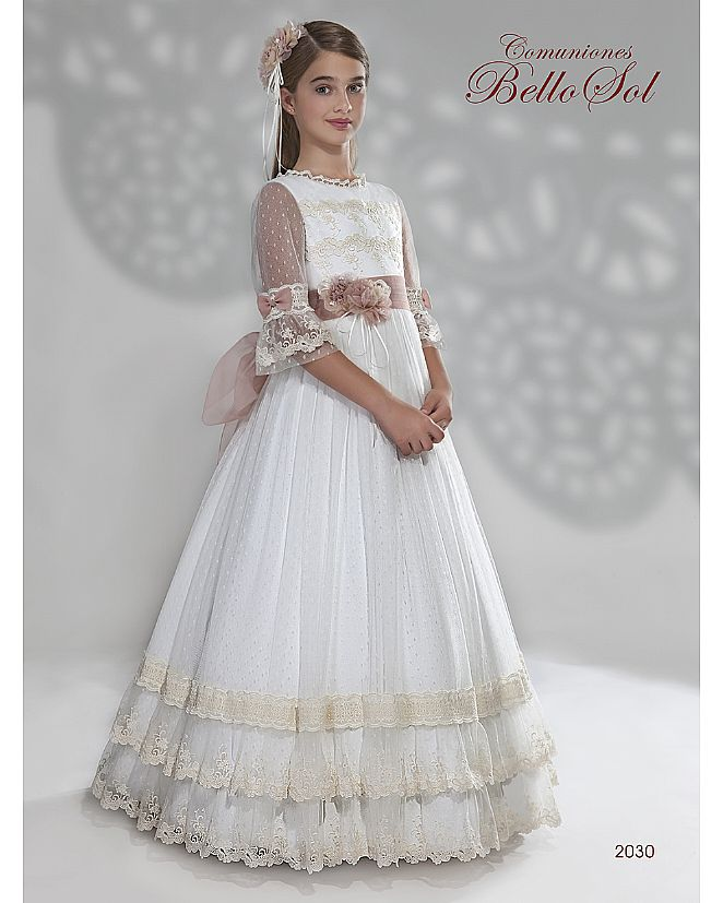 Producto: Vestido Comunión estilo romántico