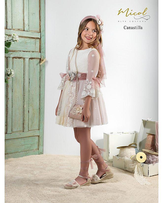 Vestido Comunión Micol Canastilla - Foto 2