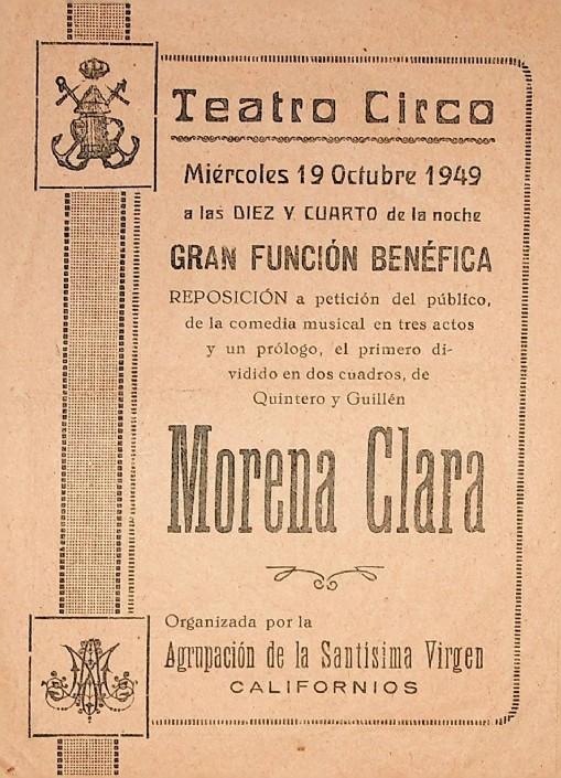 Las Zarzuelas y las Representaciones Teatrales