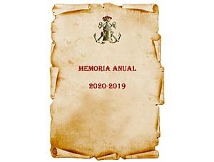 CRÓNICA-MEMORIA 2019 - 2020