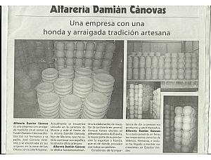 ALFARERIA DAMIAN CANOVAS
