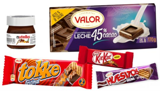 Valor / Nestle / Ferrero ...