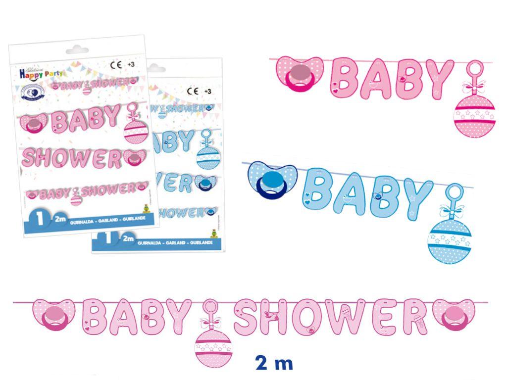 Guirnalda baby shower