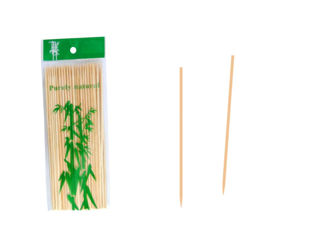 Pinchos de madera 20 cm. (50 unds.)