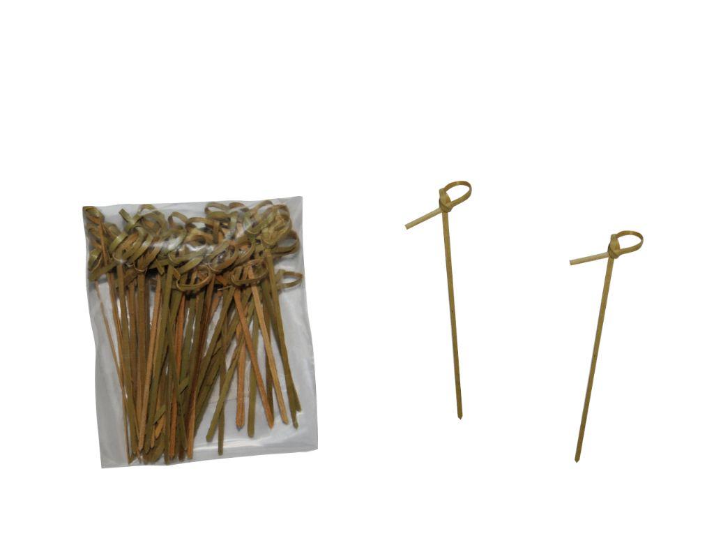 Pinchos de madera espada 10,5 cm. (50 unds.)