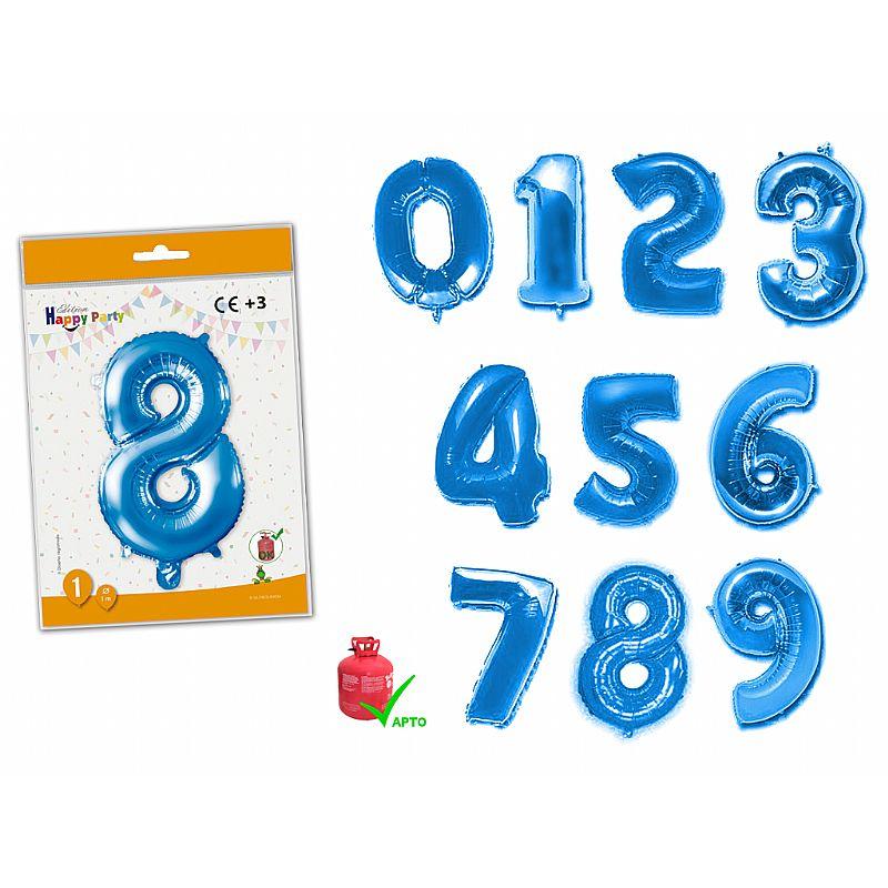 Número azul de poliamida 1 mt.