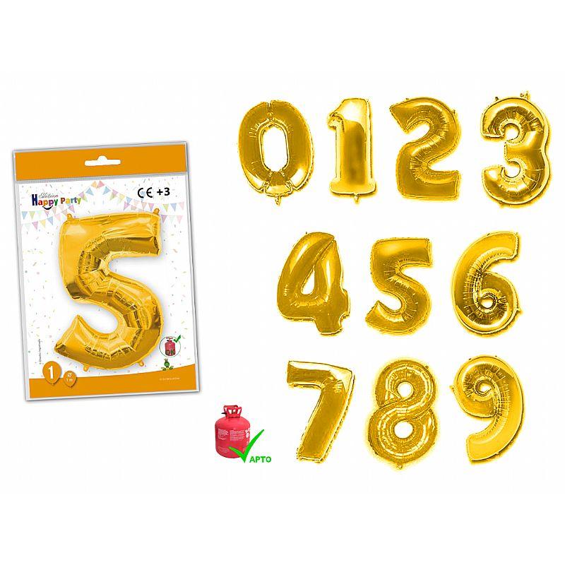 Número oro de poliamida 1 mt.
