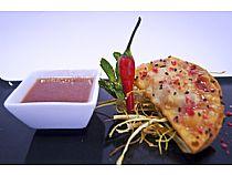 Platea Loungerbar<br> Empanadilla de carrillera y setas japonesas<br> Plaza Balsa Vieja<br> *Cerrado: Noches (lunes y martes)
