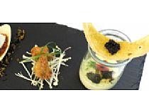 Bar-Restaurante Plaza<br> Bacalao entre texturas<br> Plaza Constitución, 5<br> *Cerrado: Lunes noche, martes y domingo