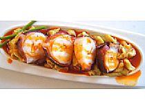 Restaurante Casa María<br> Pulpo cocido a baja temperatura con humus y aceite de pimentón<br> C/ Cartagena, 4<br> *Cerrado: Tardes (lunes a miércoles) y domingo