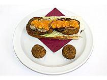 Café-bar Gran Parada<br>Paradito de pollo más croquetitas de jamón<br>Avda. Rambla de la Santa<br>*Cerrado: Martes