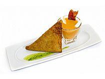 Restaurante Casa María<br>Porque sí (Brandada de bacalao)<br>C/ Cartagena, 4<br>*Cerrado: Noches(lunes, martes, miércoles y domingo)