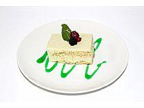 Platea Loungebar<br>Tiramisú de té verde y shake<br> Plaza Balsa Vieja<br>*Abierto todos los días
