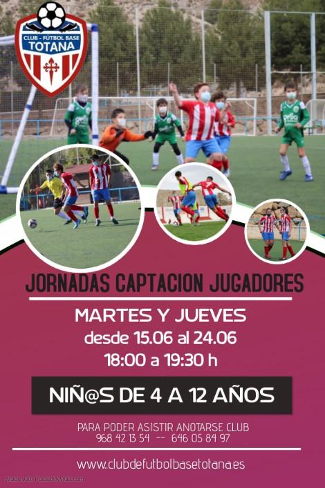 JORNADAS DE CAPTACION TEMPORADA 2021-2022