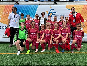 Angela Ruiz convocada Campeonato España Femenino Sub-12