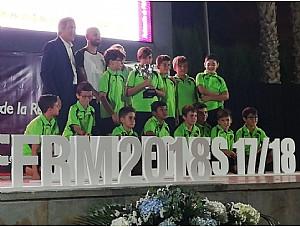 Campeones Liga Alevin CF BASES OLIMPICO