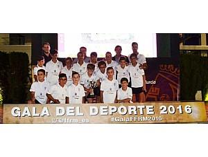 Campeones Liga Alevin CF BASE OLIMPICO