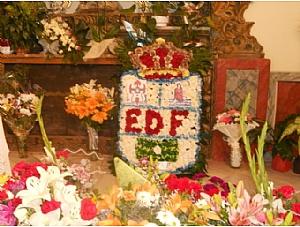 Ofrenda floral 2013