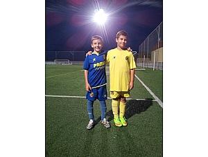 Entrenamiento alevín Villarreal CF SAD