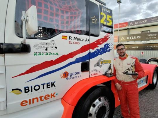 Pedro Marco bicampeón de España de Carreras de Camiones