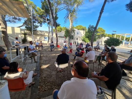 Reunión de la Unión de Federaciones Deportivas de la Región de Murcia UFDRM