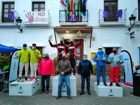 Alonso-López vencen,Arenas-Lázaro segundos conun gran ritmo