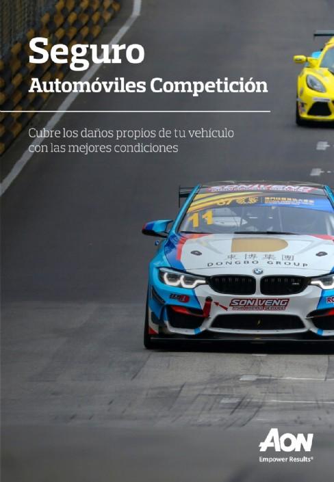 Nuevo seguro AON todo-riesgo coches competición