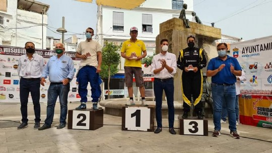 Llamusí, Sánchez y Fernández vencedores en Lanjarón