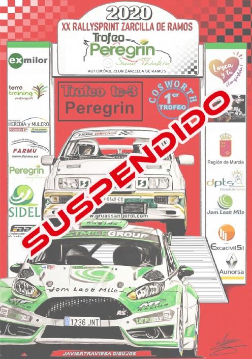 Suspendido XX Rallysprint Zarcilla de Ramos por COVID-19