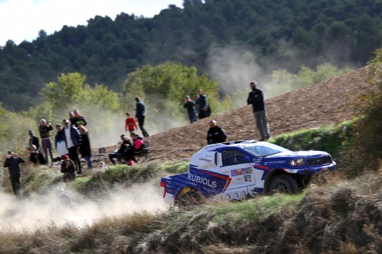 Victoria de Miguel Ángel Lázaro en el Rallye TT Cuenca