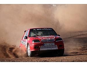 Gallardo y Lucena triunfan en el Autocross de Totana