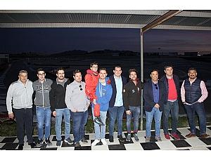 Fran Sánchez conoce los proyectos del automovilismo regional de primera mano