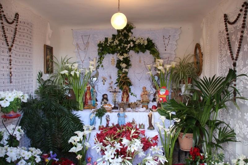 Cruz de VECINAS DE LA VEREDA DE LOS SECANOS, en Vereda de Los Secanos, 38