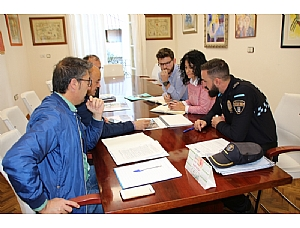 El Ayuntamiento coordina con Policía Local el dispositivo de seguridad para Los Mayos